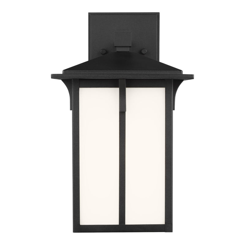 Generation Lighting 8552701-12 Sea Gull Tomek 1 Light Outdoor Light in Black
