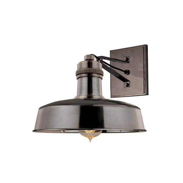 Hudson Valley Lighting 8601-DB Hudson Falls 1 Light Wall Sconce in Distressed Bronze
