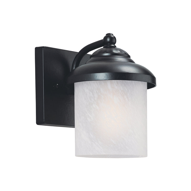 Generation Lighting 84048-12 Sea Gull Yorktown 1 Light Outdoor Light in Black