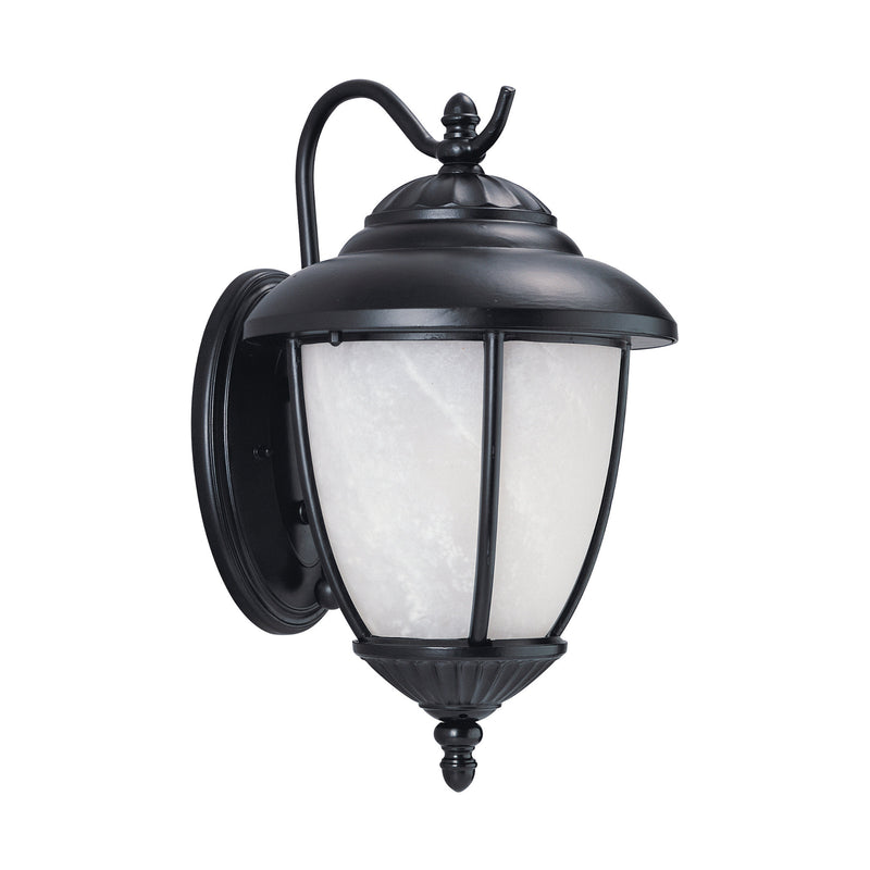 Generation Lighting 84049-12 Sea Gull Yorktown 1 Light Outdoor Light in Black
