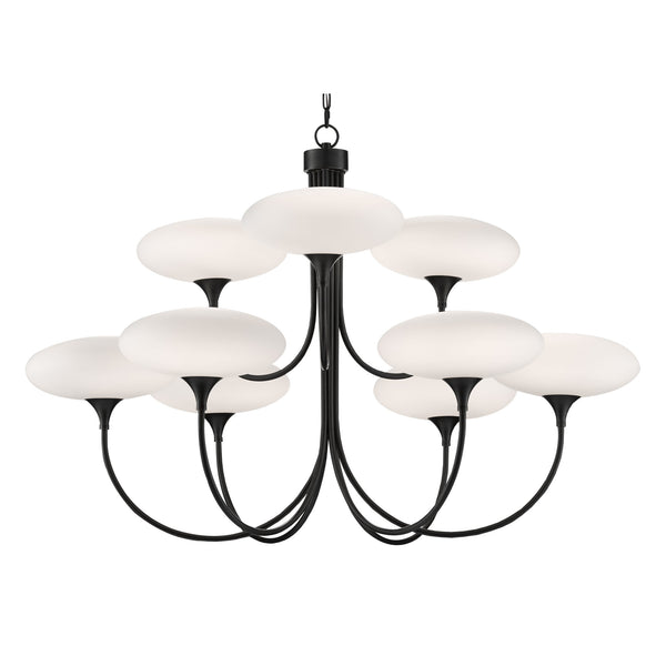 Currey and Company 9000-0588 Solfeggio Large Chandelier in Oil Rubbed Bronze