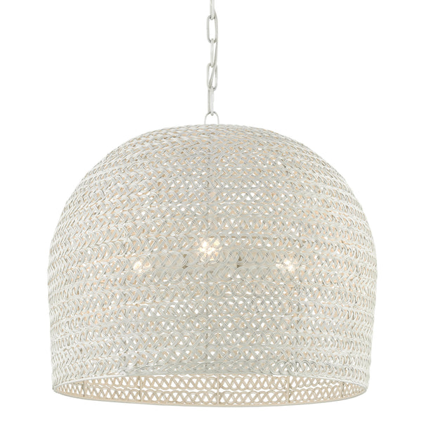 Currey and Company 9000-0623 Piero Chandelier in White