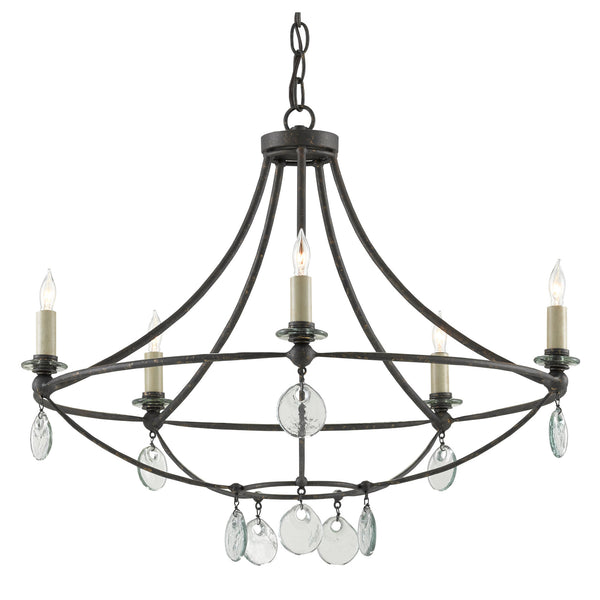 Currey and Company 9000-0641 Novella Small Chandelier in Mayfair