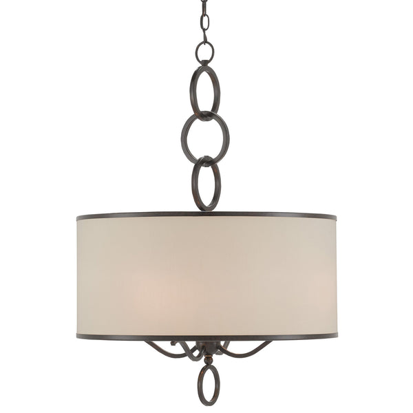 Currey and Company 9000-9108 Brownlow Large Pendant in Bronze Gold