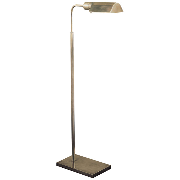Visual Comfort 91025 AN Studio VC Casual Studio Adjustable Floor Lamp in Antique Nickel
