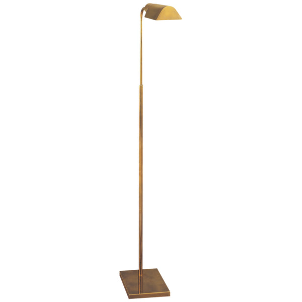 Visual Comfort 91025 HAB Studio VC Casual Studio Adjustable Floor Lamp in Hand-Rubbed Antique Brass