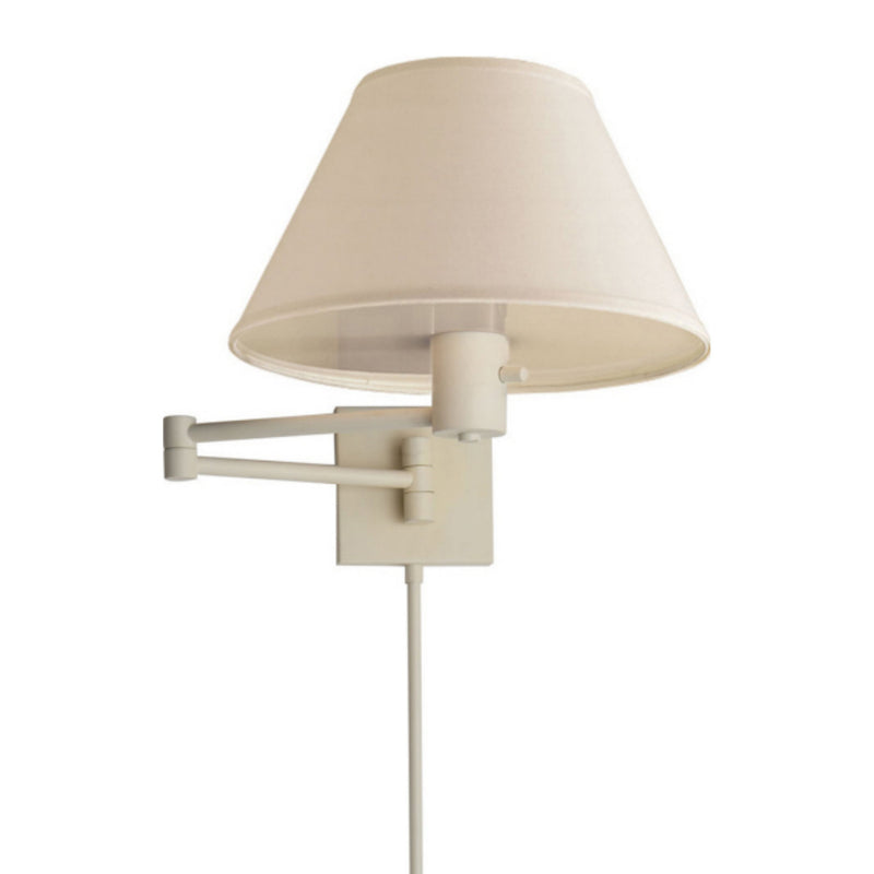 Visual Comfort 92000D WHT-L Studio VC Classic Swing Arm Wall Lamp in Matte White