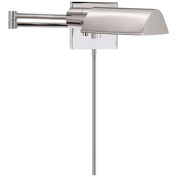Visual Comfort 92025 PN Studio VC Studio Swing Arm Wall Light in Polished Nickel