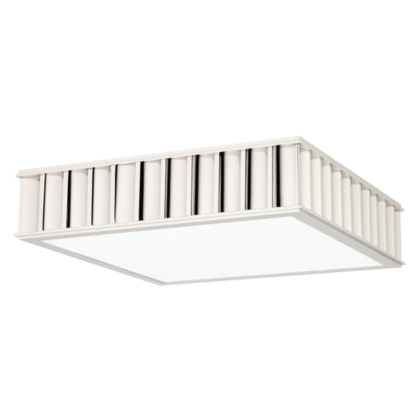 Hudson Valley Lighting 932-PN Middlebury 3 Light Flush Mount in Polished Nickel