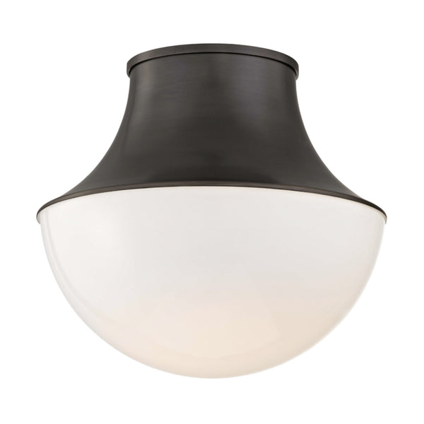 Hudson Valley Lighting 9415-OB Lettie Large Led Flush Mount in Old Bronze