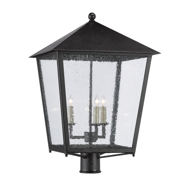 Currey and Company 9600-0006 Bening Large Post Light in Midnight