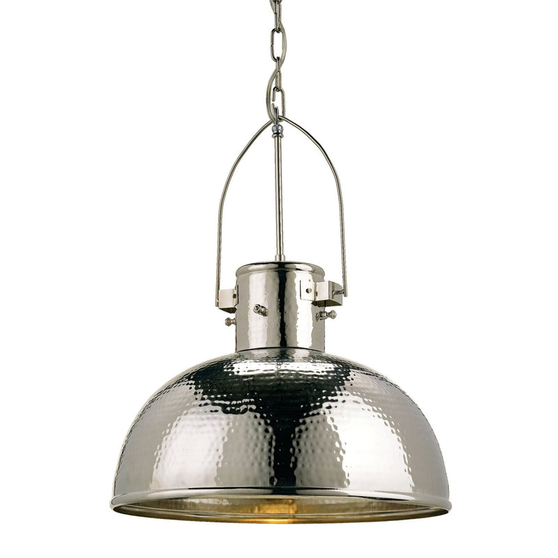 Currey and Company 9696 Syllabus Pendant in Nickel