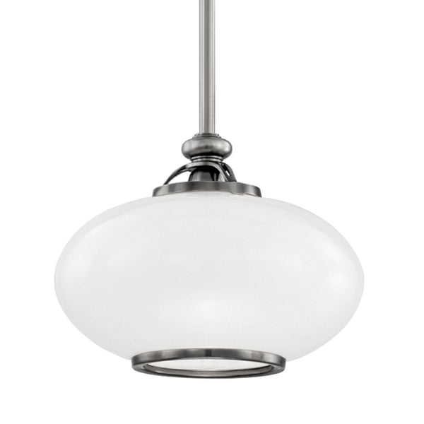 Hudson Valley Lighting 9812-ON Canton 1 Light Pendant in Old Nickel