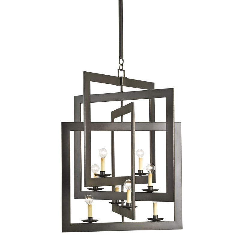 Currey and Company 9927 Middleton Bronze Chandelier in Bronze Gold