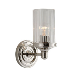 Visual Comfort AH 2200PN-CG Alexa Hampton Ava Single Sconce in Polished Nickel
