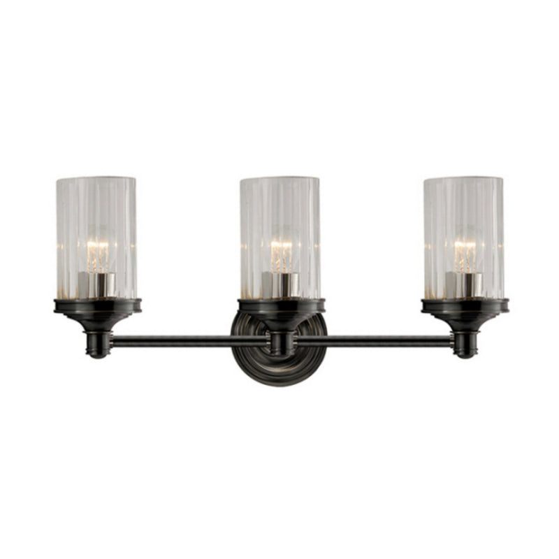 Visual Comfort AH 2202BZ-CG Alexa Hampton Ava Triple Sconce in Bronze