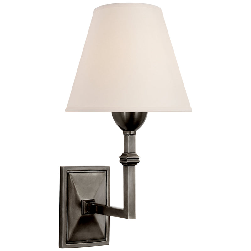 Visual Comfort AH 2305GM-NP Alexa Hampton Jane Wall Sconce in Gun Metal