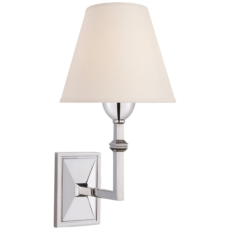 Visual Comfort AH 2305PN-NP Alexa Hampton Jane Wall Sconce in Polished Nickel