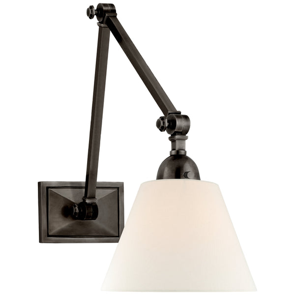 Visual Comfort AH 2330GM-L Alexa Hampton Casual Jane Double Library Wall Light in Gun Metal