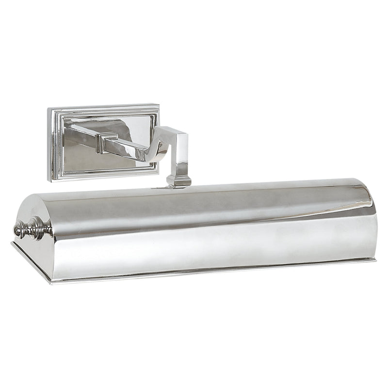 "Visual Comfort AH 2701PN Alexa Hampton Dean 12"" Picture Light in Polished Nickel"