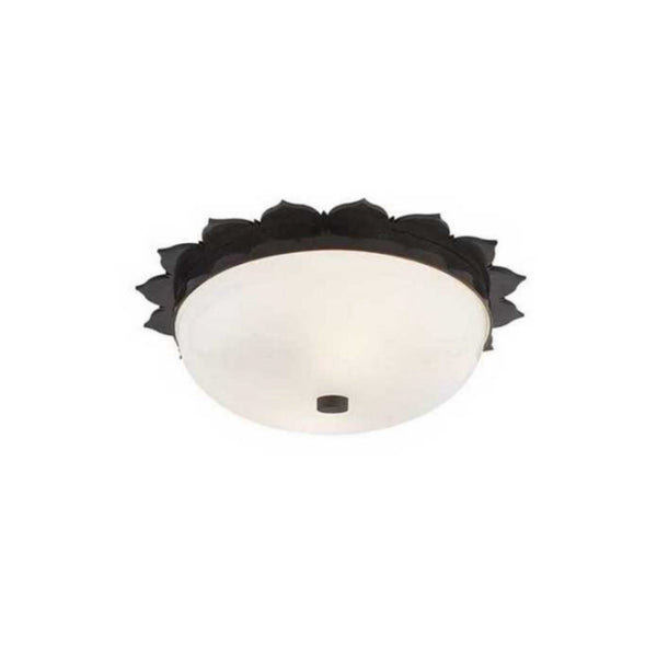 Visual Comfort AH 4029GM-WG Alexa Hampton Traditional Rachel Small Flush Mount in Gun Metal