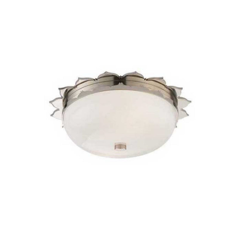 Visual Comfort AH 4029PN-WG Alexa Hampton Rachel Small Flush Mount in Polished Nickel