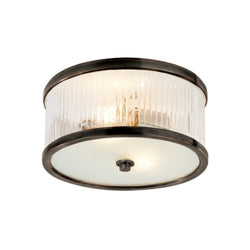 Visual Comfort AH 4200BZ-FG Alexa Hampton Randolph Small Flush Mount in Bronze