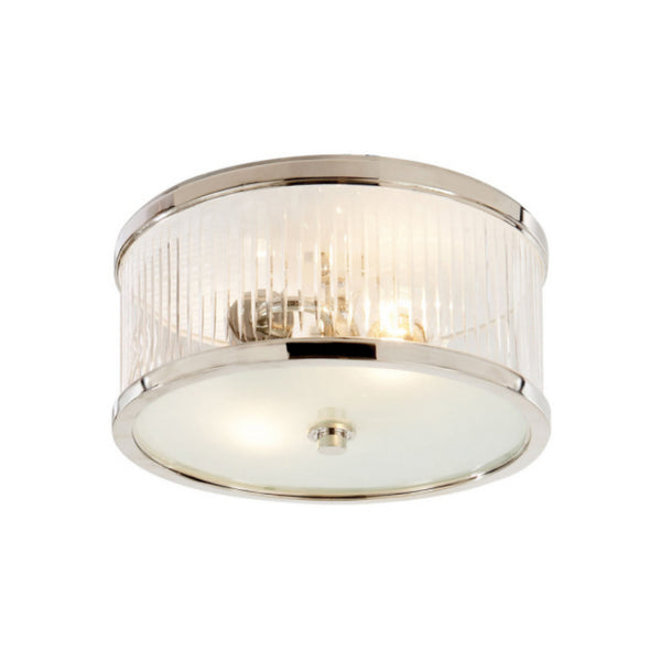 Visual Comfort AH 4200PN-FG Alexa Hampton Traditional Randolph Small Flush Mount in Polished Nickel