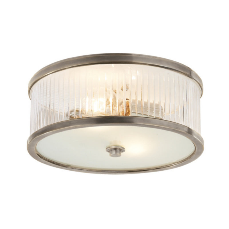 Visual Comfort AH 4201AN-FG Alexa Hampton Randolph Large Flush Mount in Antique Nickel