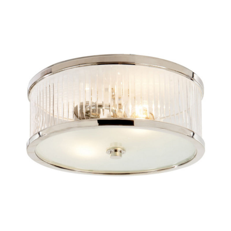 Visual Comfort AH 4201PN-FG Alexa Hampton Randolph Large Flush Mount in Polished Nickel