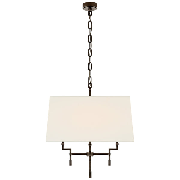 Visual Comfort AH 5305GM-L Alexa Hampton Casual Jane Medium Hanging Shade in Gun Metal