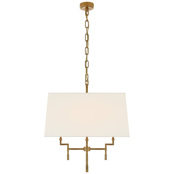 Visual Comfort AH 5305HAB-L Alexa Hampton Casual Jane Medium Hanging Shade in Hand-Rubbed Antique Brass