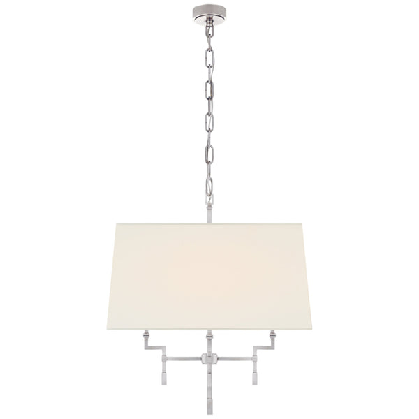 Visual Comfort AH 5305PN-L Alexa Hampton Casual Jane Medium Hanging Shade in Polished Nickel