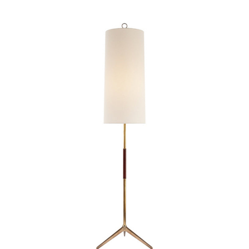 Visual Comfort ARN 1001HAB-L AERIN Frankfort Floor Lamp in Hand-Rubbed Antique Brass