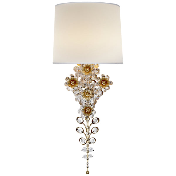Visual Comfort ARN 2226G-L AERIN Claret Tail Sconce in Gild
