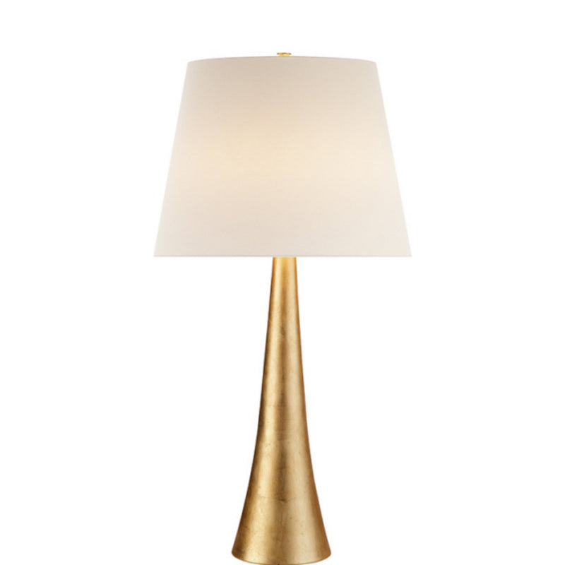 Visual Comfort ARN 3002G-L AERIN Dover Table Lamp in Gild