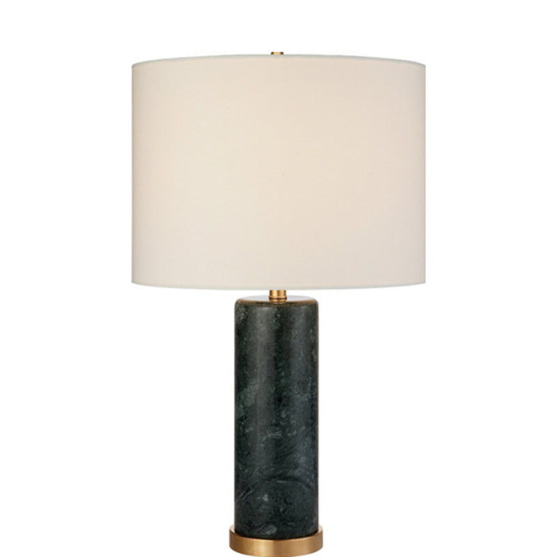 Visual Comfort ARN 3004GRM-L AERIN Cliff Table Lamp in Green Marble