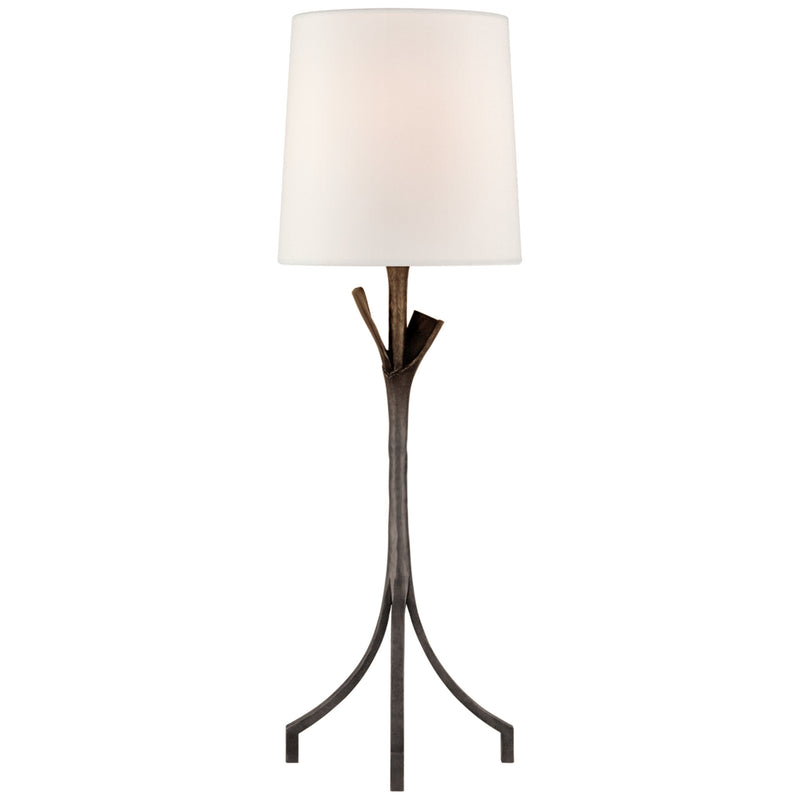 Visual Comfort ARN 3080AI-L AERIN Fliana Table Lamp in Aged Iron