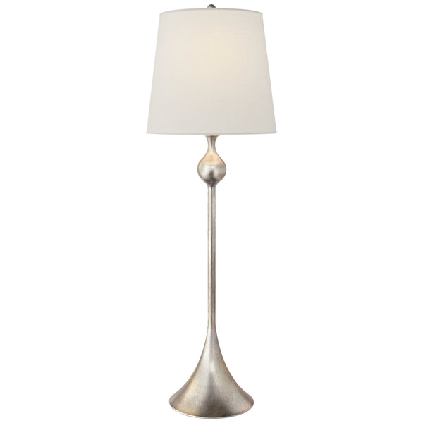 Visual Comfort ARN 3144BSL-L AERIN Dover Buffet Lamp in Burnished Silver Leaf