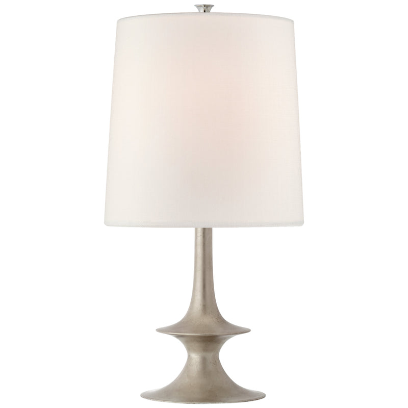 Visual Comfort ARN 3323BSL-L AERIN Lakmos Medium Table Lamp in Burnished Silver Leaf