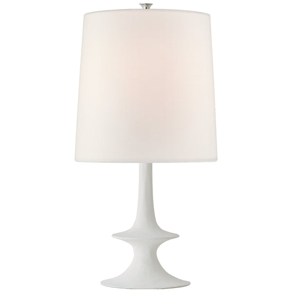 Visual Comfort ARN 3323PW-L AERIN Lakmos Medium Table Lamp in Plaster White