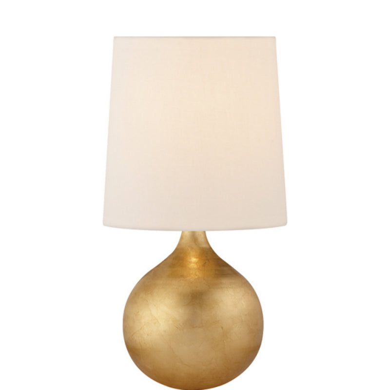 Visual Comfort ARN 3600G-L AERIN Warren Mini Table Lamp in Gild