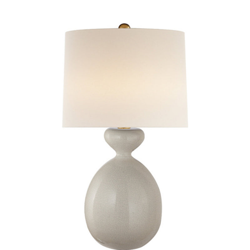 Visual Comfort ARN 3606BC-L AERIN Gannet Table Lamp in Bone Craquelure