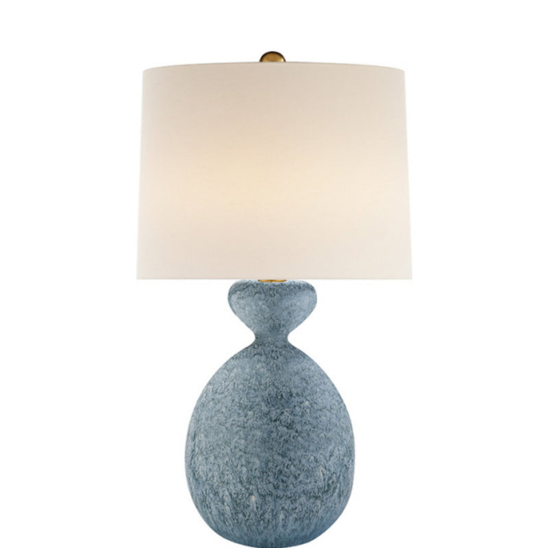 Visual Comfort ARN 3606BLL-L AERIN Gannet Table Lamp in Blue Lagoon