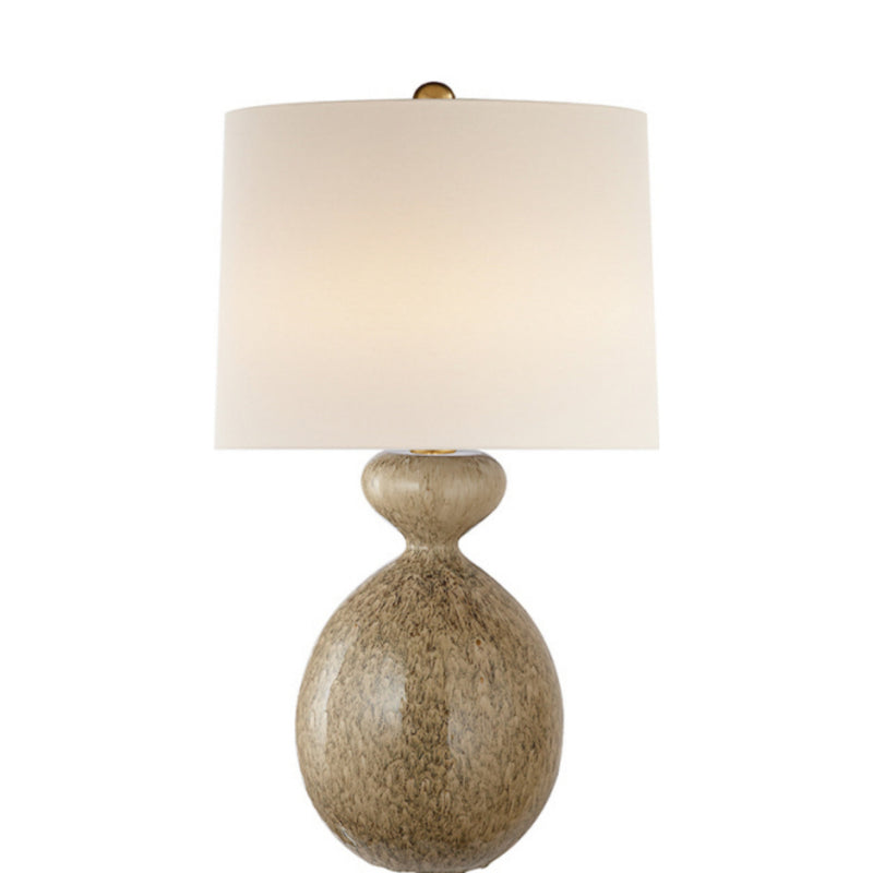 Visual Comfort ARN 3606MS-L AERIN Gannet Table Lamp in Marbleized Sienna
