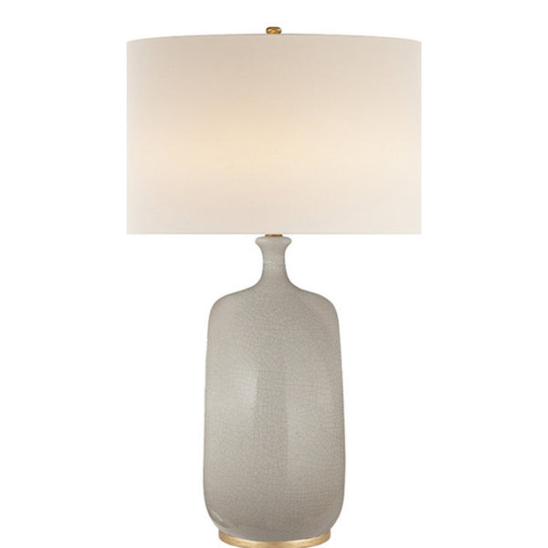 Visual Comfort ARN 3608BC-L AERIN Culloden Table Lamp in Bone Craquelure
