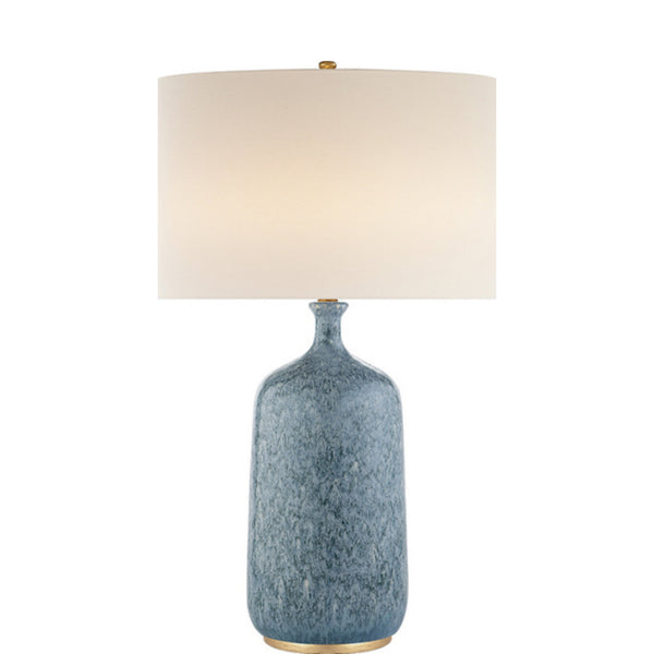 Visual Comfort ARN 3608BLL-L AERIN Culloden Table Lamp in Blue Lagoon
