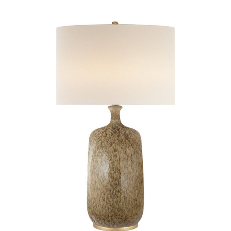 Visual Comfort ARN 3608MS-L AERIN Culloden Table Lamp in Marbleized Sienna