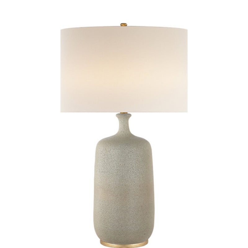Visual Comfort ARN 3608VI-L AERIN Culloden Table Lamp in Volcanic Ivory