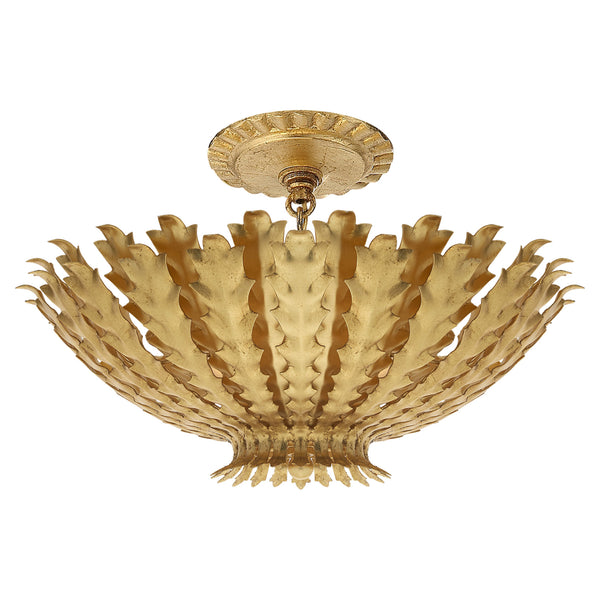 Visual Comfort ARN 4011G AERIN Hampton Small Chandelier in Gild